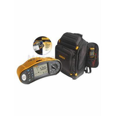 Fluke 1664FC + Fluke PACK30 univerzális érintésvédelmi műszer és szerszámostáska