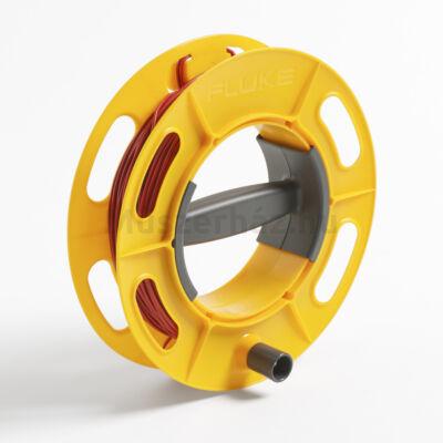 Fluke Cable Reel 50M RD földelésvizsgálathoz kábelkészlet, 50m, piros