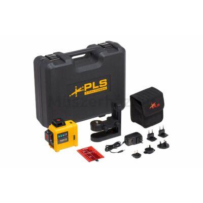 PLS Fluke 3X360R KIT 3-tengelyes 360 fokos lézeres szintező készlet, vörös