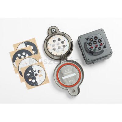 Fluke PQ400/B mérőpont villamos kapcsolószekrényekre kábelek nélkül