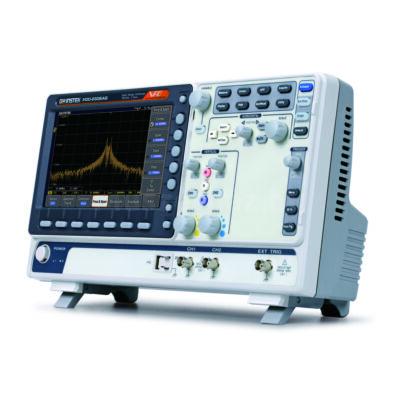 GW Instek MDO-2202AG 200MHz, 2CH digitális oszcilloszkóp, Spektrum analizátor és 2CH AWG generátor