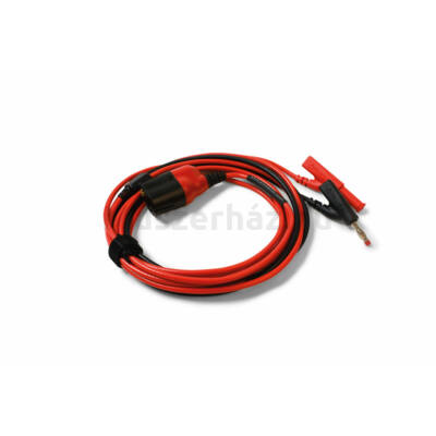 Pico TA405 BNC+ Prémium mérővezeték, BNC-4mm, 3m, piros