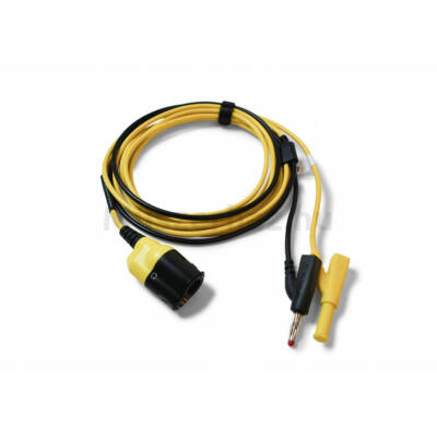 Pico TA478 BNC+ Prémium mérővezeték, BNC-4mm, 5 m, sárga