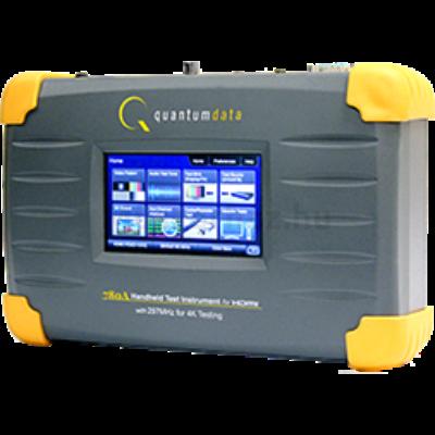 Quantum Data 780AH videó teszt generátor és analizátor 4K és 297MHz