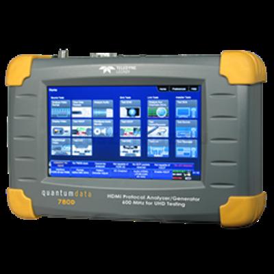 Quantum Data 780D videó teszt generátor és protokoll analizátor HDMI és HDBaseT teszteléshez