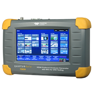 Quantum Data 780E videó teszt generátor és protokoll analizátor HDMI, DisplayPort és HDBaseT teszteléshez