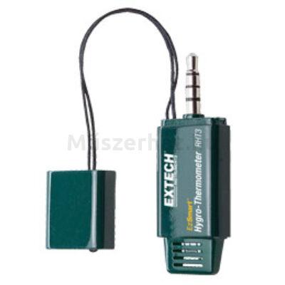 Extech RHT3 ESmart páratartalom- és hőmérsékletmérő műszer mobil eszközökhöz