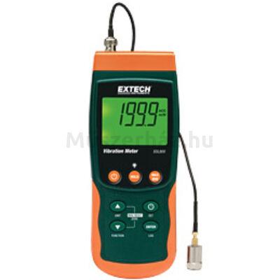 Extech SDL800 Rezgésmérő kéziműszer és adatgyűjtő