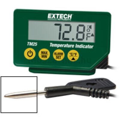 Extech TM25 hőmérsékletmérő külső szondával, vízálló