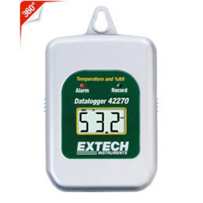 Extech 42270 Hőmérséklet és páratartalom mérő és adatgyűjtő