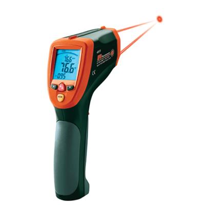Extech 42570Infrahőmérő magas hőmérséklethez, kettős lézer, 50:1, 2200 Celsius
