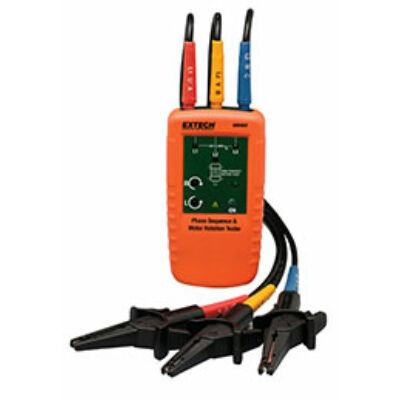 Extech 480403 Fázis forgásirány és Motor forgásirány teszter