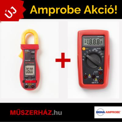Amprobe ACD-10 Plus Kit 600A AC digitális lakatfogó + Amprobe AM-500 multiméter