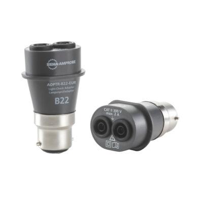 Amprobe ADPTR-B22-EUR lámpa foglalat adapter teszter B22