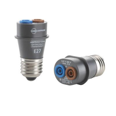 Amprobe ADPTR-E27-EUR lámpa foglalat adapter teszter E27