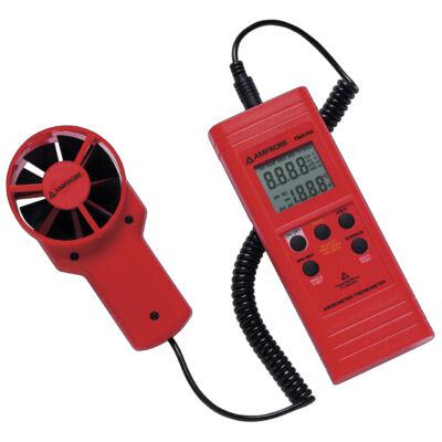 Amprobe TMA10A lapátkerekes légsebességmérő kéziműszer