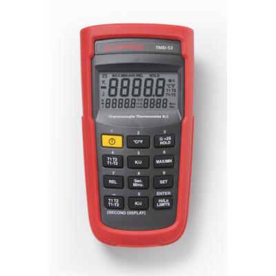 Amprobe TMD-53 hőmérsékletmérő, riasztással
