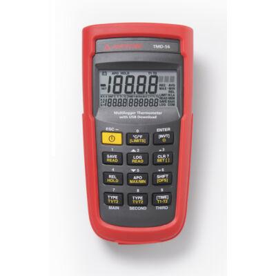 Amprobe TMD-56 hőmérsékletmérő, adatgyűjtés