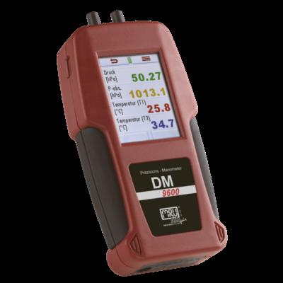 DM 9600 Precíziós nyomásmérő +/- 7000hPa (mbar)