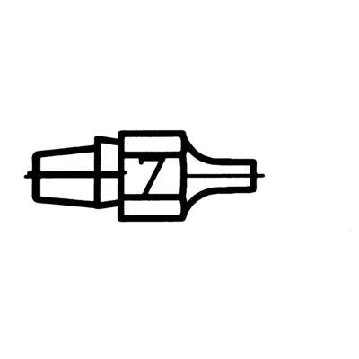 Weller DX 117forrasztócsúcs