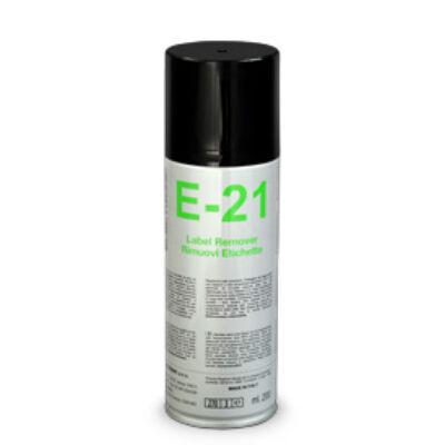 E21 CÍMKEELTÁVOLÍTÓ SPRAY, 200ml