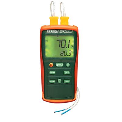 Extech EA10 Hőmérsékletmérő műszer, 2CH