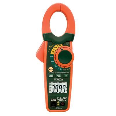 Extech EX720 - 800A AC True RMS lakatfogó + hőmérsékletmérés