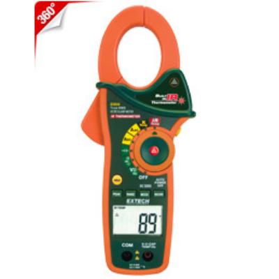 Extech EX830 1000A AC/DC True RMS lakatfogó + hőmérő + infrahőmérő
