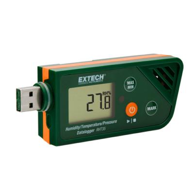 Extech RHT35 Hőmérsékletmérő, páratartalom és légköri nyomásmérő adatgyűjtő