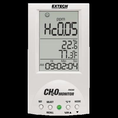 Extech FM300 Asztali formaldehid (CH2O vagy HCHO) monitor