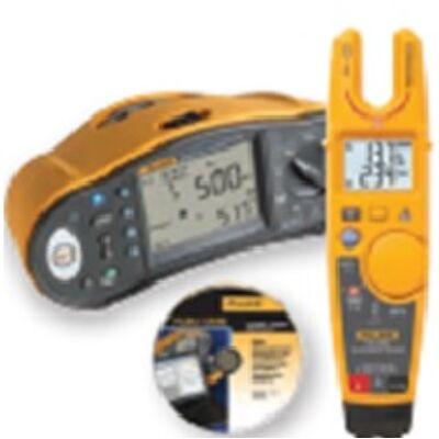Fluke 1664FC univerzális érintésvédelmi műszer, ajándék Fluke T6-1000 teszterrel és DMS szoftverrel