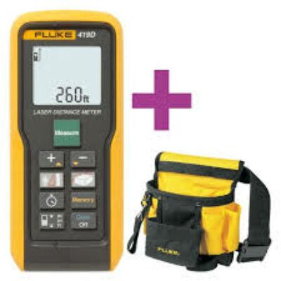 Fluke 419D lézeres távolságmérő 80m ajándék szerszámostáskával