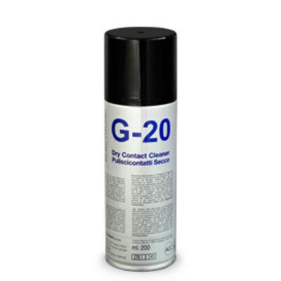 G20 SZÁRAZ KONTAKTUSTISZTÍTÓ SPRAY, 200ml