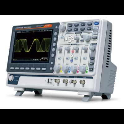 GW Instek GDS-2104E 100MHz, 4CH digitális oszcilloszkóp