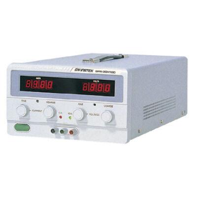 GW Instek GPR-11H30D 110V-3A, 1 csatornás, trafós tápegység