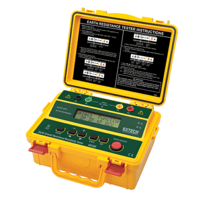 Extech GRT350 Földelési- és talajellenállásmérő műszer, 4-vezetékes