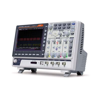 GW Instek MSO-2074EA 70MHz, 4CH digitális oszcilloszkóp, 16CH logikai analizátor, 25MHz 2CH arbitrázs generátor