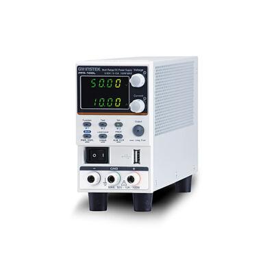 GW Instek PFR-100LGP, 50V-10A, 100W, 1 csatornás, kapcsoló üzemű ventillátor mentes tápegység