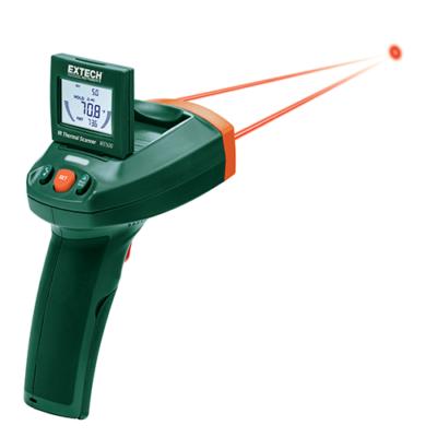 Extech IRT500 Kettős lézeres infrahőmérő szkenner funkcióval, 20:1, 260 Celsius