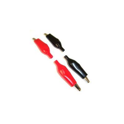 GW Instek GLC-01Krokodil csipeszek (2db piros és 2db fekete)