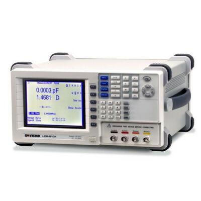GW Instek LCR-8101G Asztali LCR mérő 1MHz