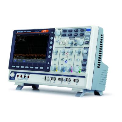 GW Instek MDO-2074EX 70MHz, 4CH digitális oszcilloszkóp, Spektrum analizátor, 25MHz 2CH arbitrázs generátor, multiméter és tápegység