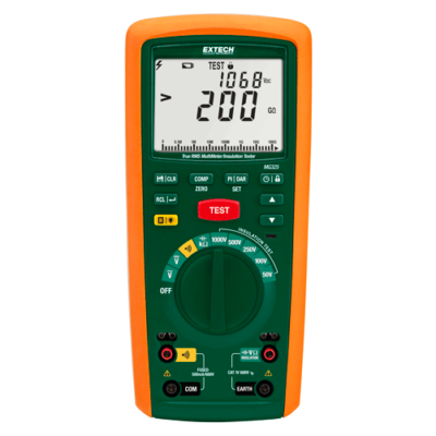 Extech MG325 Szigetelésvizsgáló multiméter CAT IV