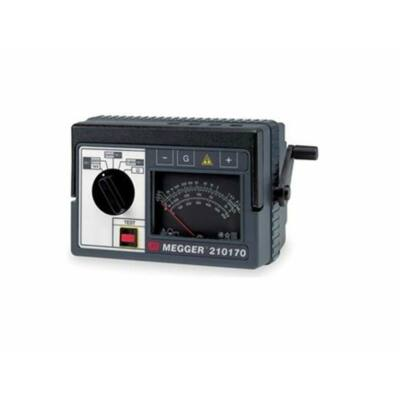 Megger 210170 analóg szigetelési ellenállásmérő, 1kV