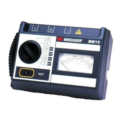Megger BM15-EU analóg szigetelési ellenállásmérő, 5kV