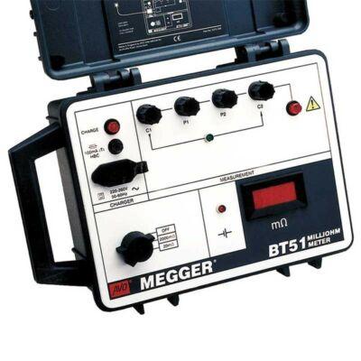 Megger BT51 2A DLRO átmeneti ellenállásmérő, 2000 mOhm