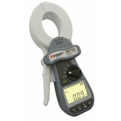 Megger DET14C földelési ellenállásmérő lakatfogó