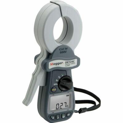 Megger DET24C földelési ellenállásmérő lakatfogó