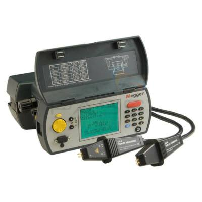 Megger DLRO10X-NLS Ducter ellenállásmérő mérővezeték nélkül