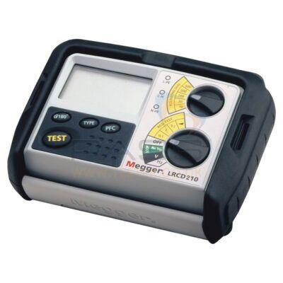 Megger LRCD210 Hurokimpedancia és RCD teszter